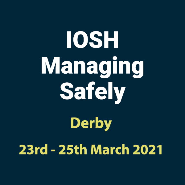 20210323 Managing Safely Training