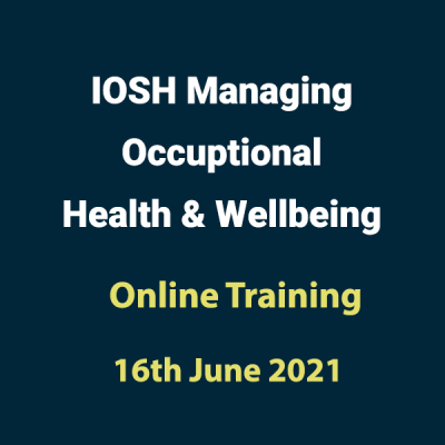 20210616 Managing Occupation Health Wellbeing Training