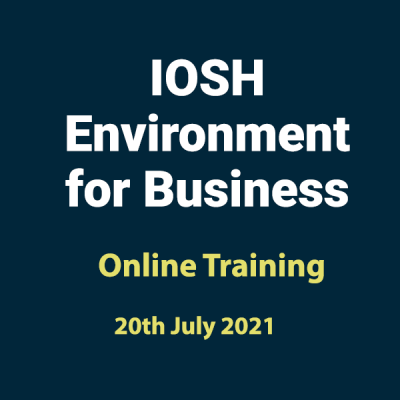 20210720 Environment for Business Training