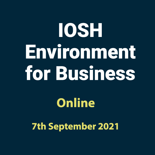 20210907 Environment for Business Training