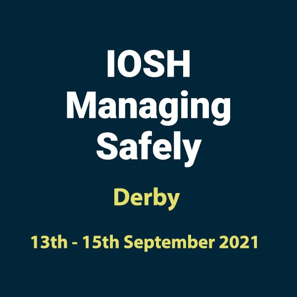 20210913 Managing Safely Training