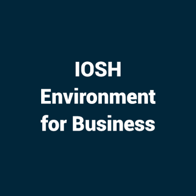 IOSH Environment for Business