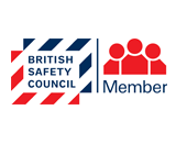 Logo for the British Safety Council